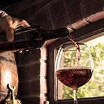 Leuchtkasten Wein